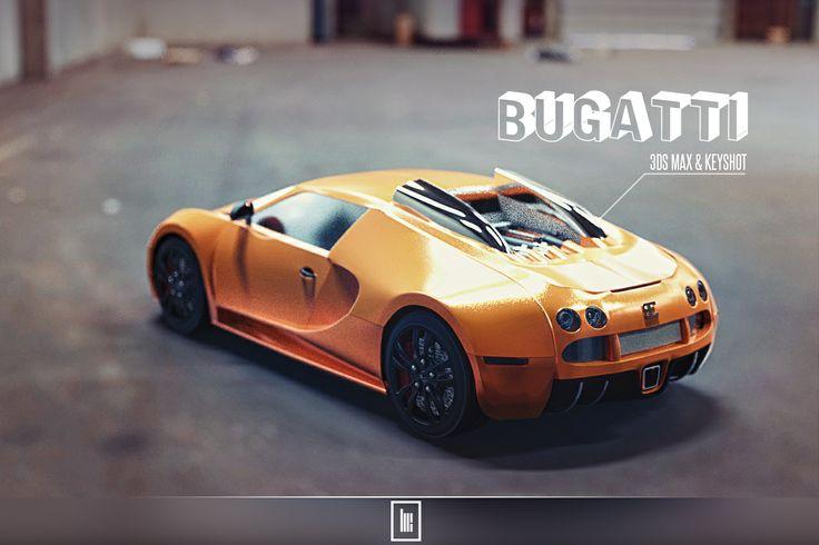 3ds max - Keyshot Bugatti