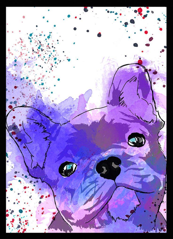 Bulldog Francês - Dog in Art