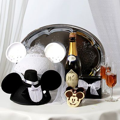 our gift for John and Kristina's honeymoon at the Disney Park ....