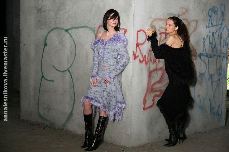 """Купить Платье """"Аллегория"""" - авторское платье, вязаное платье, трикотажное платье, вязаное платье купить"""