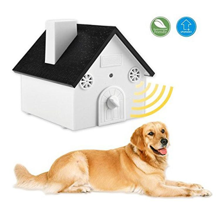 Outdoor Ultrasonic Dog Bark Control Anti Barking Device Sonic Bark Deterrents with Hanging Hole at Banggood