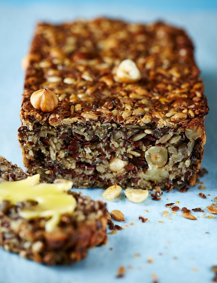 Gluten-free seed loaf. Seeds and nuts. #LCHF #banting #timnoakes