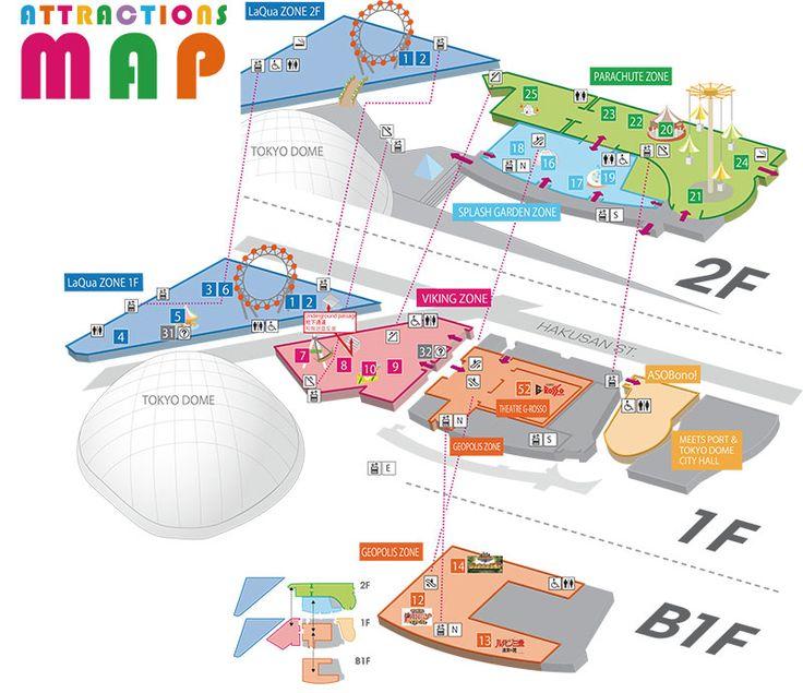 Tokyo dome city theme park