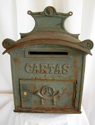 Antique Cast Iron mailbox
