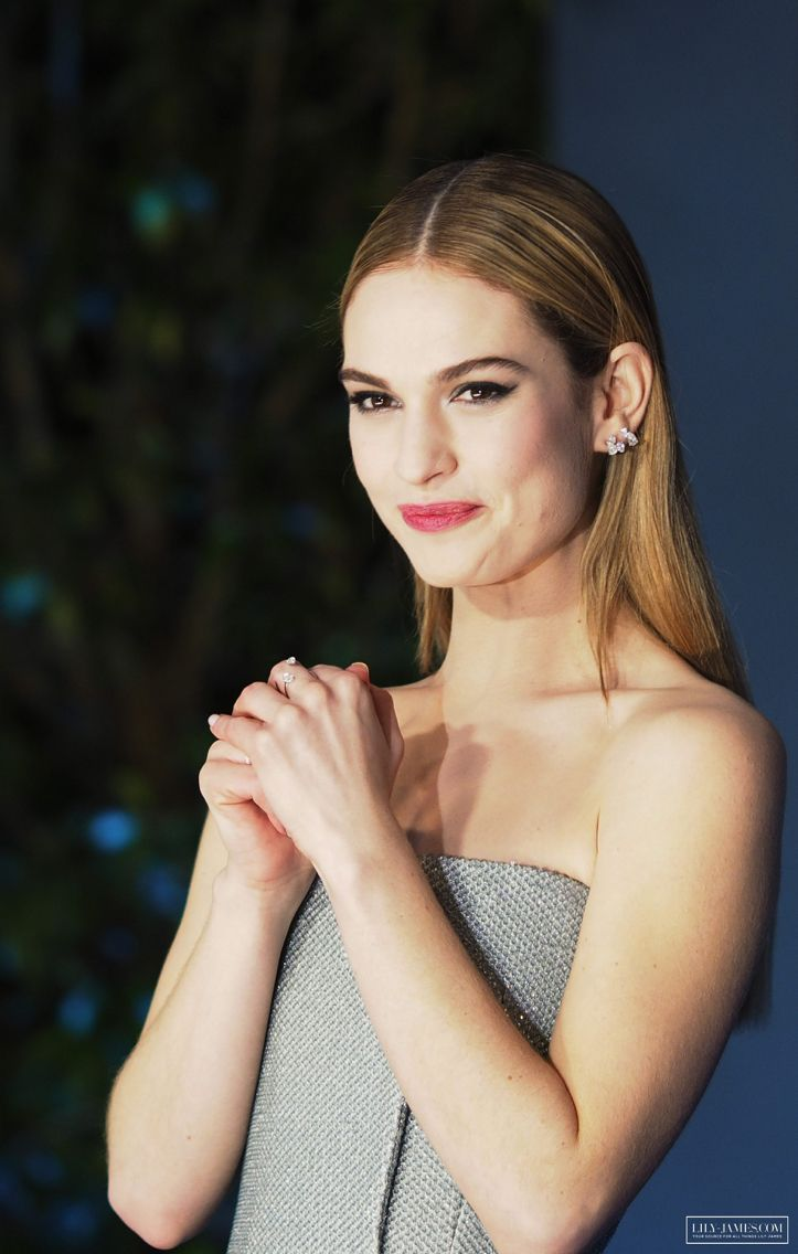375 best Lily James im...