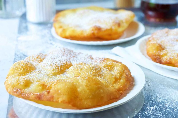 County Fair Fried Dough Recipe - leave out the butter for traditional American Indian Frybread recipe, which makes awesome Navajo Tacos.  The recipe with butter makes good tortillas. (above are posted comments on facebook)