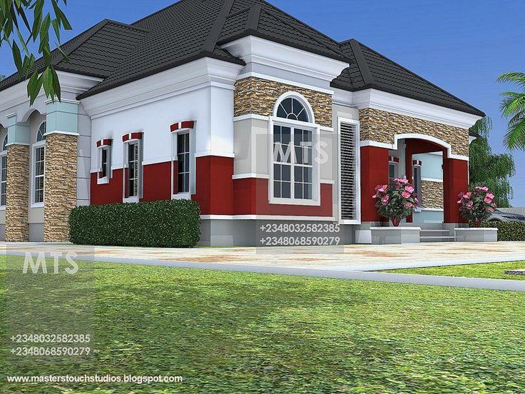 6 Bedroom Bungalow House Plans In Nigeria 15 5 Bedroom