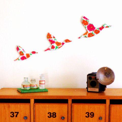 Delilah Devine Three Flying Ducks Wall Art #1