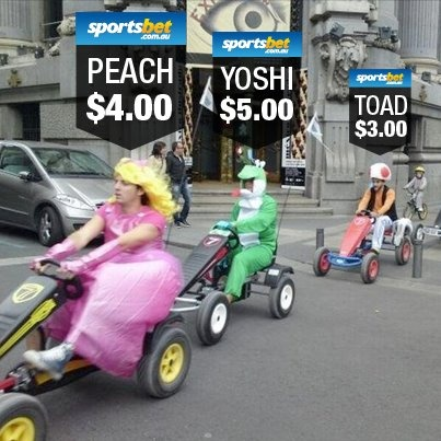 Novelty betting - LIKE if Mario Kart should be an Olympic event! - Sportsbet.com.au