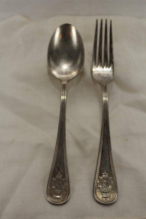 4 Old Charleston Forks Sterling Silver  7-1//4 inch fork
