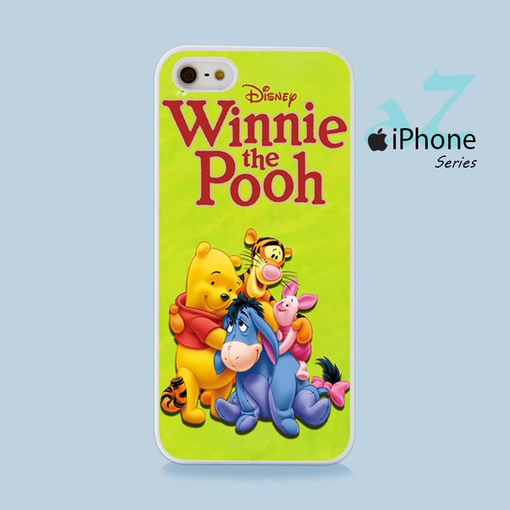 Winnie The Pooh & Friend Phone Case | Apple iPhone 4/4s 5/5s 5c 6/6s 6/6s Plus Samsung Galaxy S3 S4 S5 S6 S6 Edge S7 S7 Edge Samsung Galaxy Note 3 4 5 Hard Case