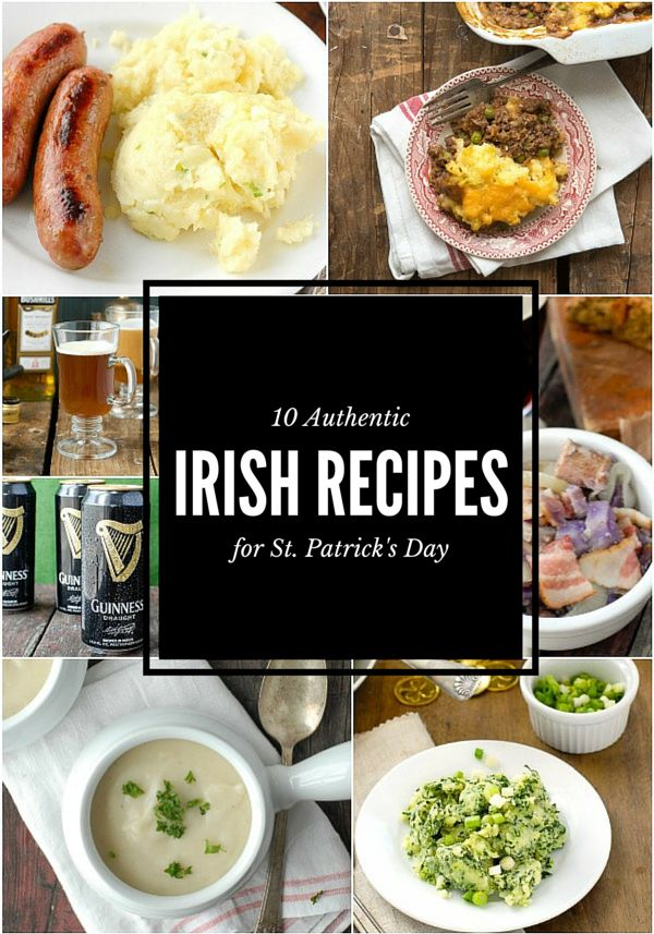 10 Authentic Irish Recipes for St. Patrick's Day and any other day too! BoulderLocavore.com
