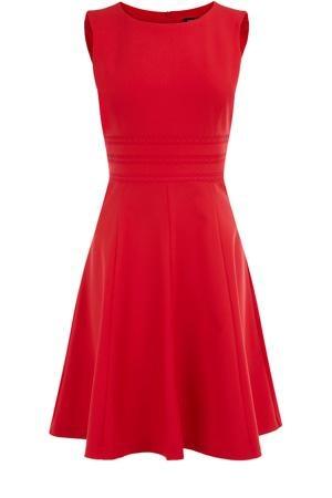 Oasis Shop | Coral Orange Sunflower Dress | Womens Fashion Clothing | Oasis Stores UK