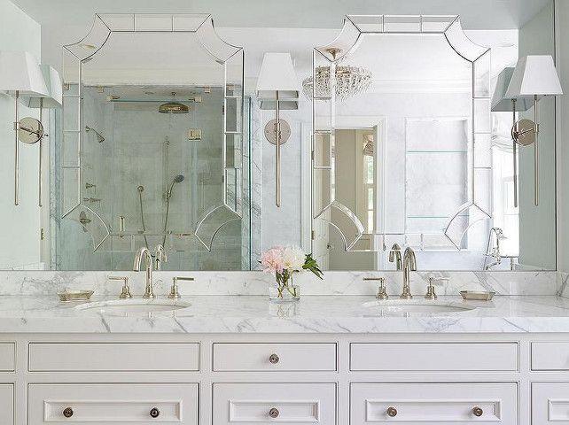 36 Wall Mirror Beveled Rectangle Vanity Bathroom Furniture Decor W Wide Edge: Best 20+ Bathroom Vanity Mirrors Ideas On Pinterest