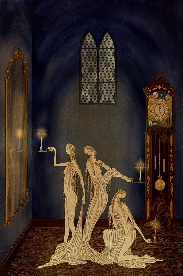 Kate Baylay Illustration for Seven Gothic Tales