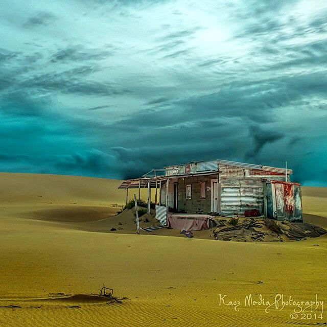 Location: Tin City Stockton Sand Dunes