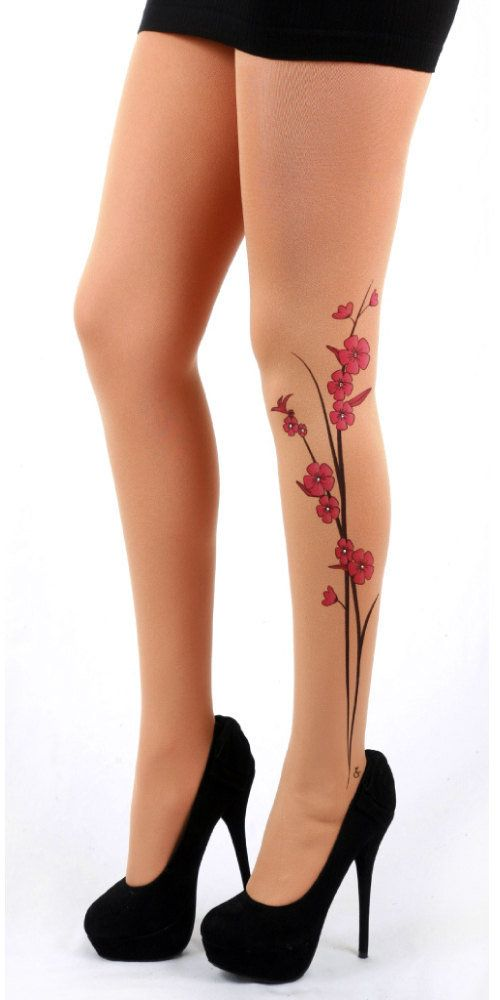This is not a tattoo. This is a pair of tattoo tights. Having said that, I quite like this design (other designs are available). Helen x
