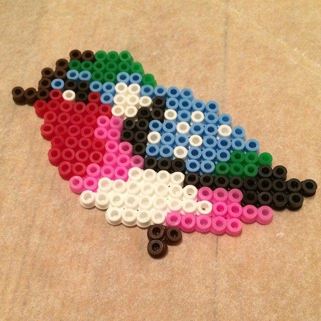 Bird perler beads by malin.persson