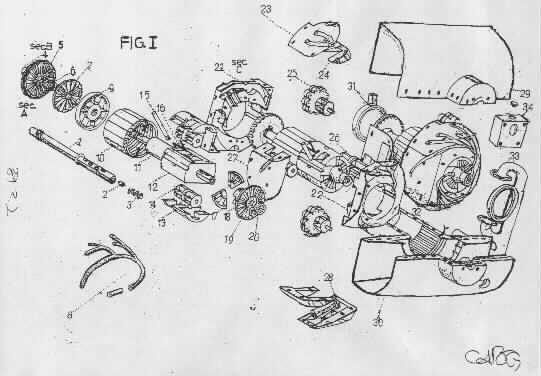 State of the Art Novel InFlowTech  1-Gearturbine RotaryTurbo, 2-Imploturbocompressor One Compression Step