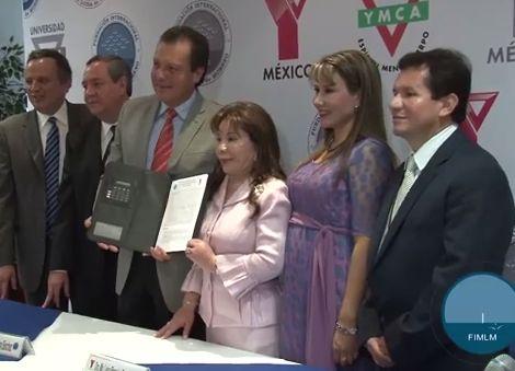 YMCA y FIMLM Establecen Convenio de Cooperación Internacional