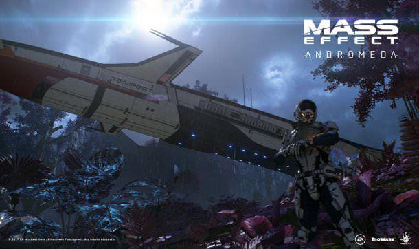 New Mass Effect Andromeda Screenshot