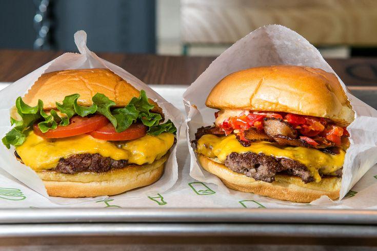 Oh my... Shake Shack burgers...