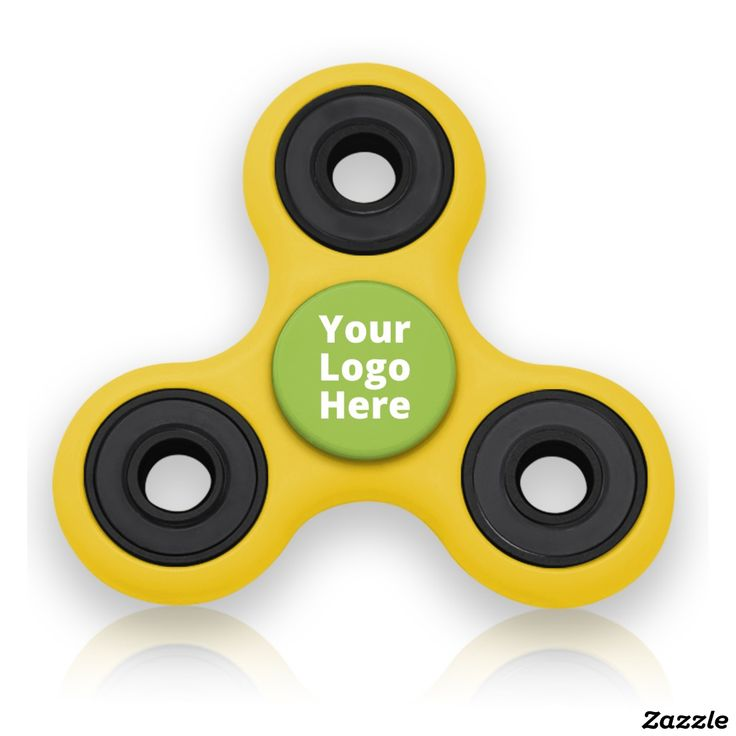 Yellow & Lime Green Spinning Fidget Gadget Toy