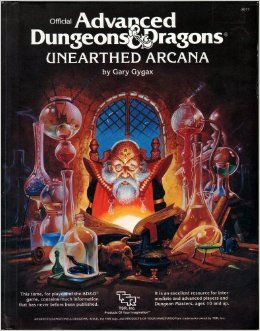 Official Advanced Dungeons and Dragons, Unearthed Arcana: Gary Gygax: 9780880380843: Amazon.com: Books