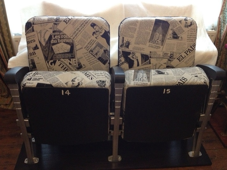 Vintage Cinema Seats (2)