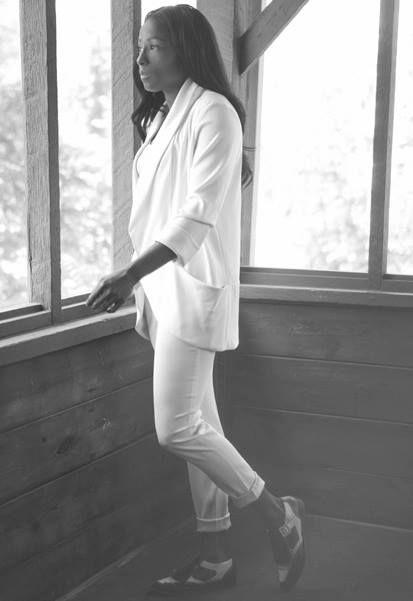 True Blood star Rutina Wesley in Aritzia Magazine
