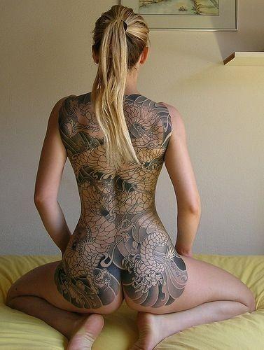 yakuza dragon tattoo wow tattoos pinterest sexy