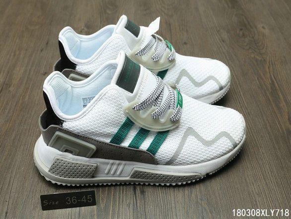 best sneakers 8ec99 7c680 Adidas EQT Cushion ADV New Arrival s Green White Shoe ...