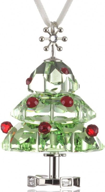 36 best glass crystal trees images on pinterest for Swarovski decoration crystals