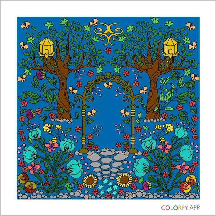 Itunesapple Us App Colorfy Coloring BooksAppleItunes GardensPhotos