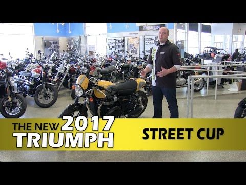 Review: New 2017 Triumph Street Cup - Triumph Motorcycles - Minneapolis, St Paul, Lakeville, MN Visit http://www.motoprimo.net or Call (952) 465-0500 Today! Motoprimo Motorsports 16640 Kenrick Ave Lakeville, MN 55044 This is a Walk Around Review of ...  Motorcycle Parts>>> http://amzn.to/2jsweFR   https://www.youtube.com/watch?v=4T5w1vNdduE