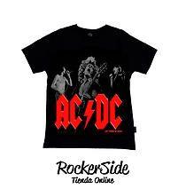 Camiseta ACDC talla 6. $15.000 Adquierela en www.rockerside.com Envíos a todo Colombia, aceptamos todos los medios de pago