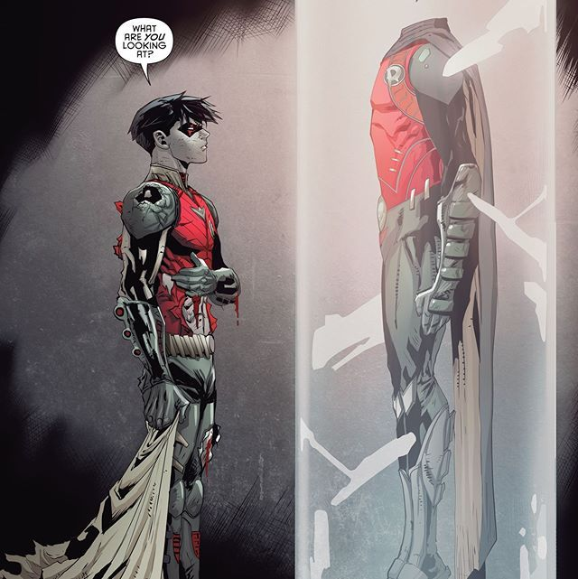 Dextor Soy- Jason Todd has never really fit in with Batman's dynasty, but he's starting to form his own weird family with Artemis and Bizarro. What's your review of RED HOOD AND THE OUTLAWS #3?