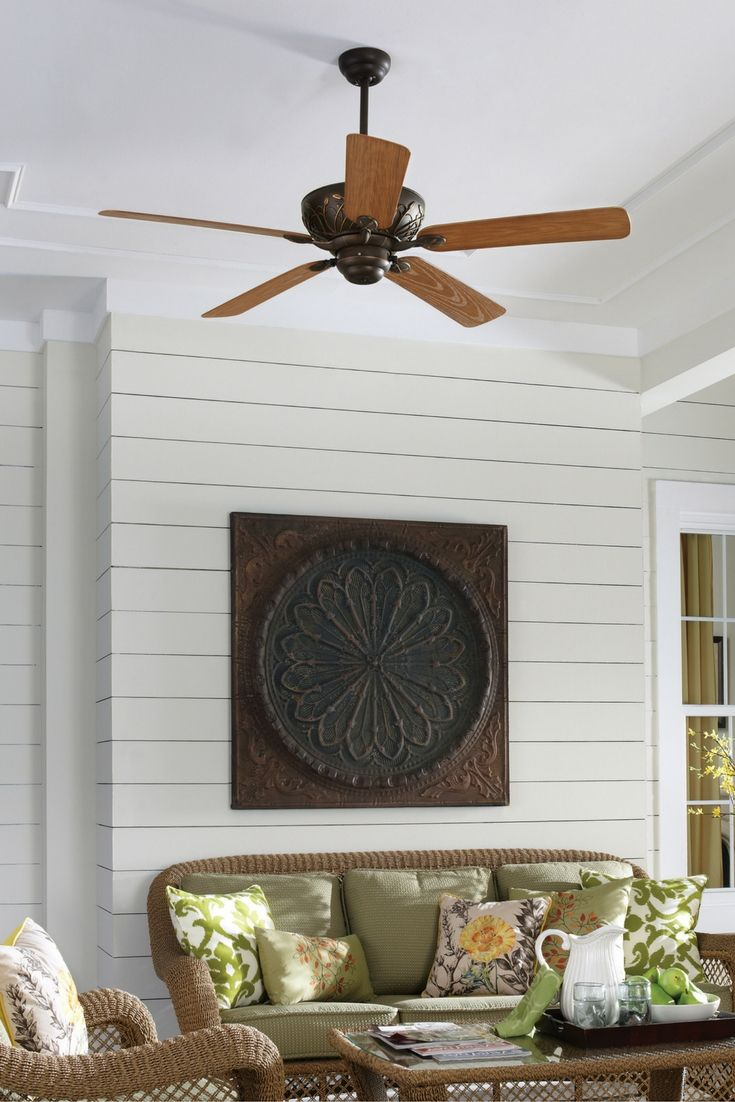 Don't let your sunroom get too hot! Ceiling fan sale NOW with Feiss Monte Carlo.