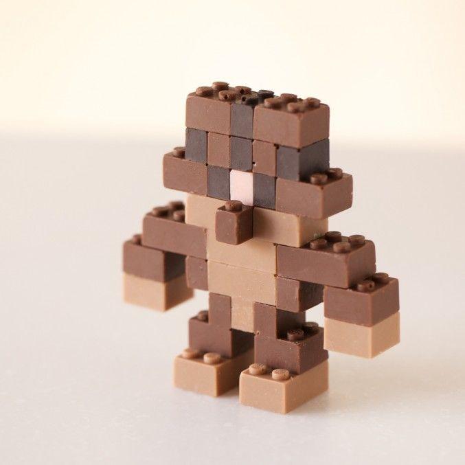 Chocolate LEGO Bricks by Akihiro Mizuuchi | http://www.123inspiration.com/chocolate-lego-bricks-by-akihiro-mizuuchi/
