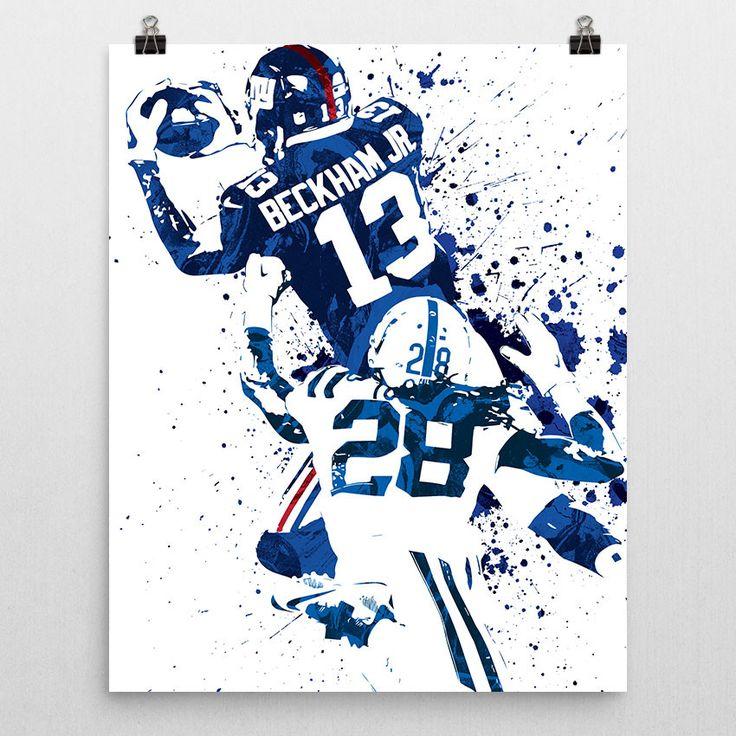 Odell Beckham Jr New York Giants Poster