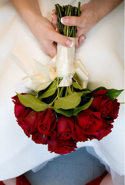 Wedding Bouquet ~ Roses
