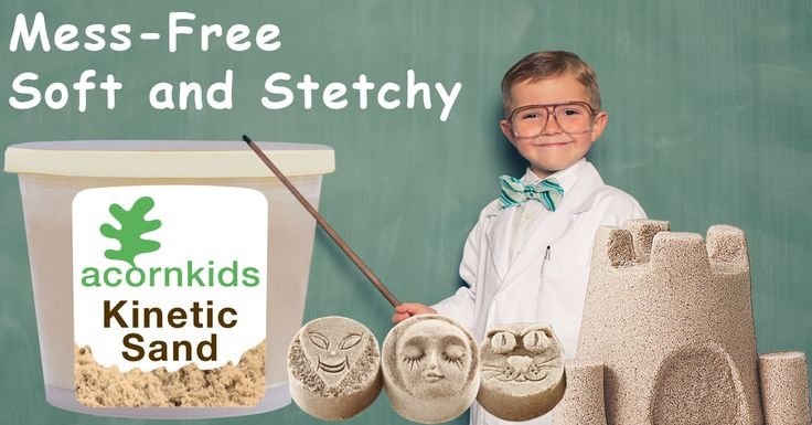 Kinetic Sand: amazing, easy-to-shape, breathes motion! Read my mommy blog at http://www.acornkids.com/blog.aspx  Click here to buy now! http://goo.gl/29xYjc