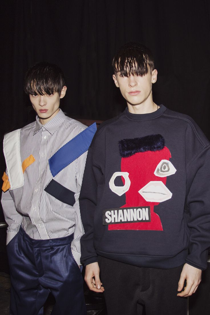 LCM: Backstage Christopher Shannon Autumn/Winter 2015Essential Homme Magazine: