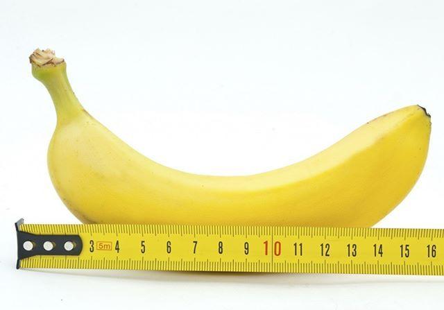 El pene promedio de un hombre mide entre 12.7 y 15.3 centímetros. #sexoral #sexosalvaje #pene