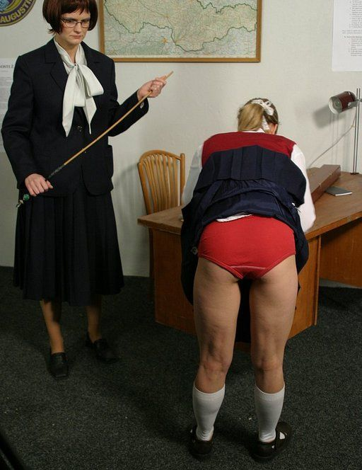 Madrid spank cane strict