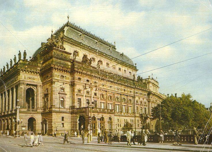 Národné divadlo Praha cca 1962