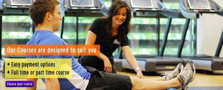 Our Course are designed to suit you  in personal training courses in london