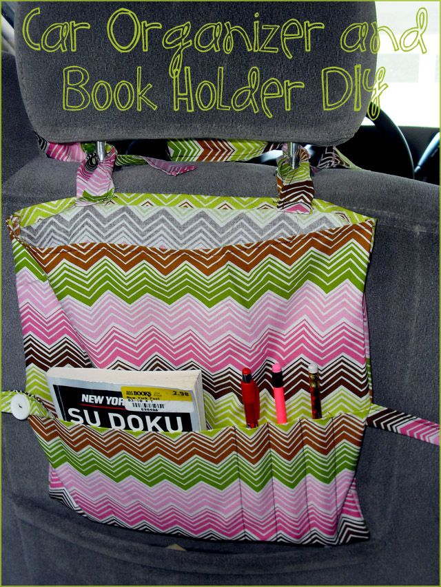 Back of the seat organizer Oh @Amy Seeley and @Kari Marbury and @Cherith Gray your kids should have these for the trip to NH!!!!