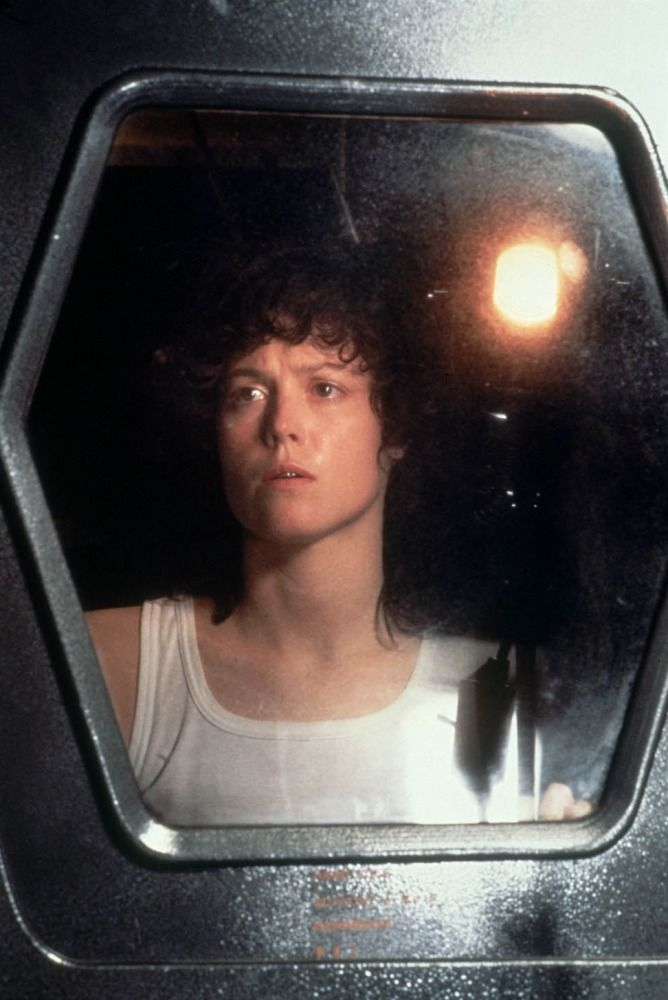 Sigourney Weaver in Alien (1979)