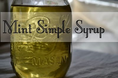Anyone else have a psycho mint plant taking over their yard? Here's what to do with it: #Mint Simple Syrup for cocoa and #cocktails